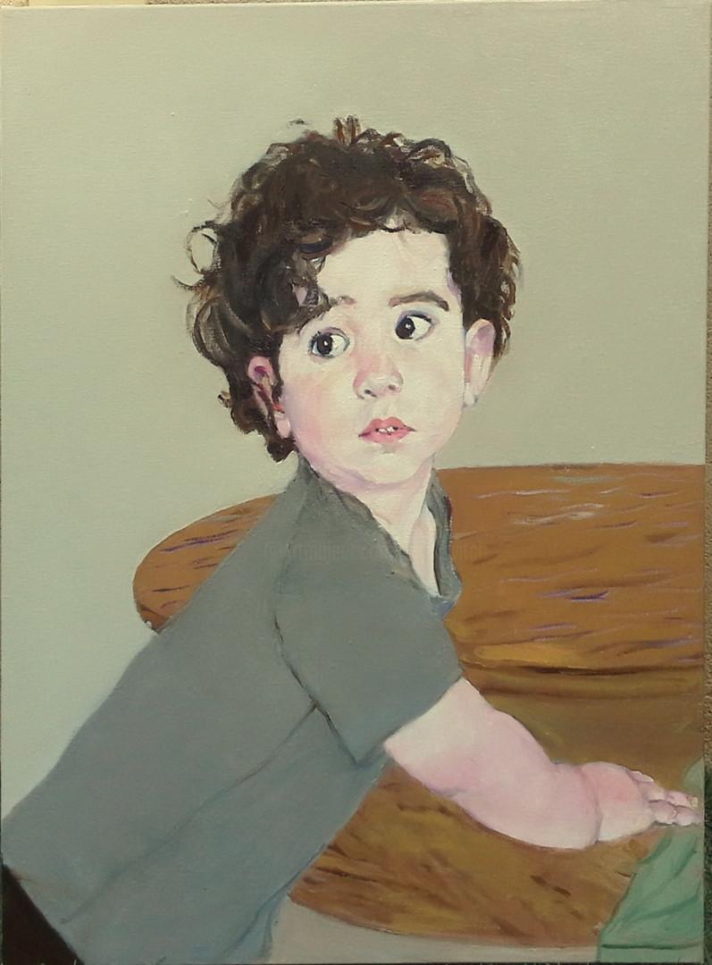 lubalem - Portrait of little boy Leroy