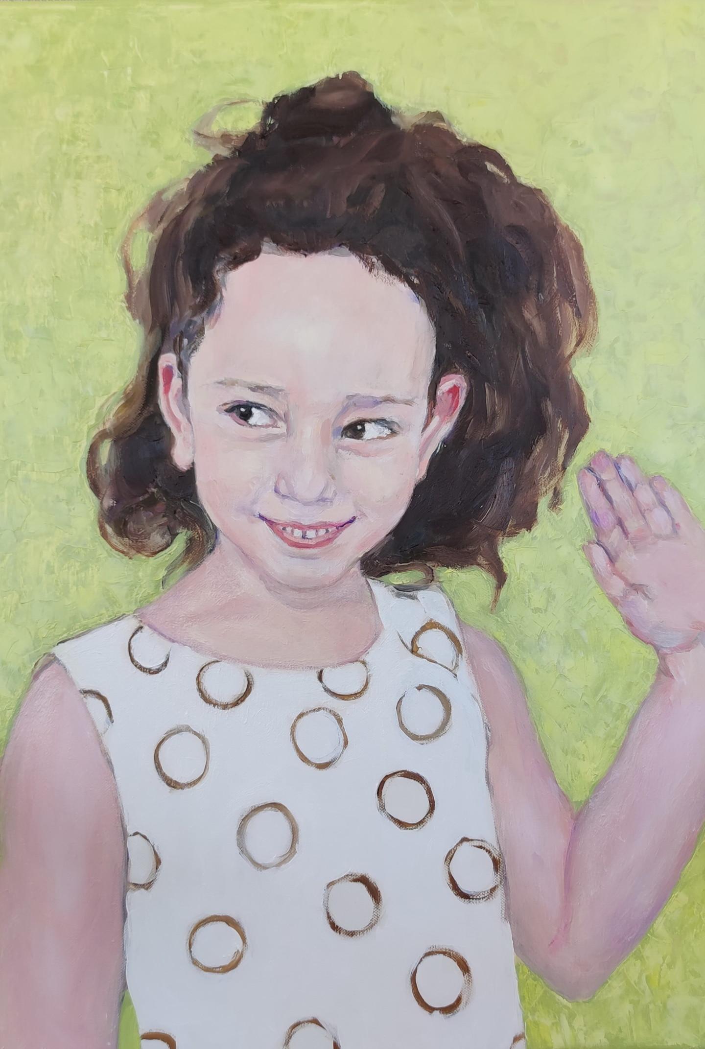Lubalem - Portrait of girl  Noa