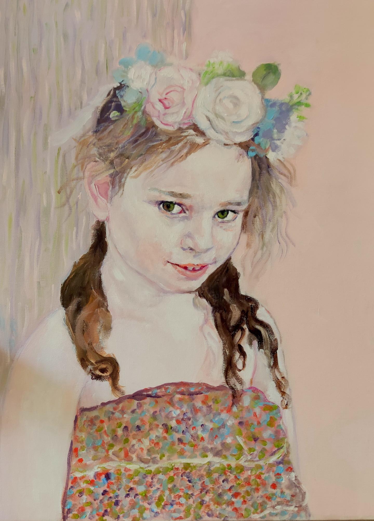 Lubalem - Portrait of girl  Noa 1