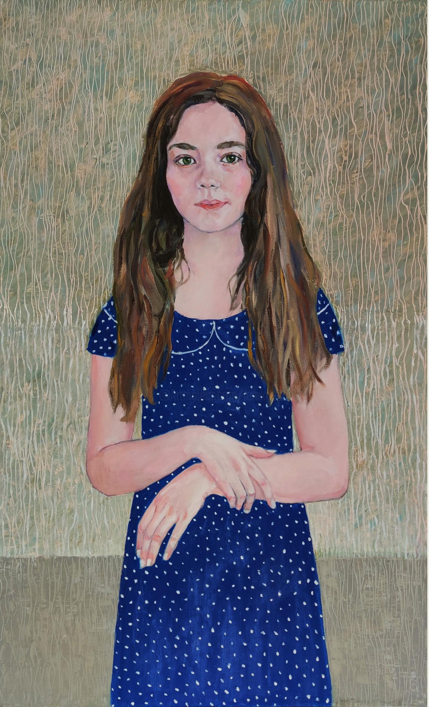 Lubalem - Portrait of girl Yehudith