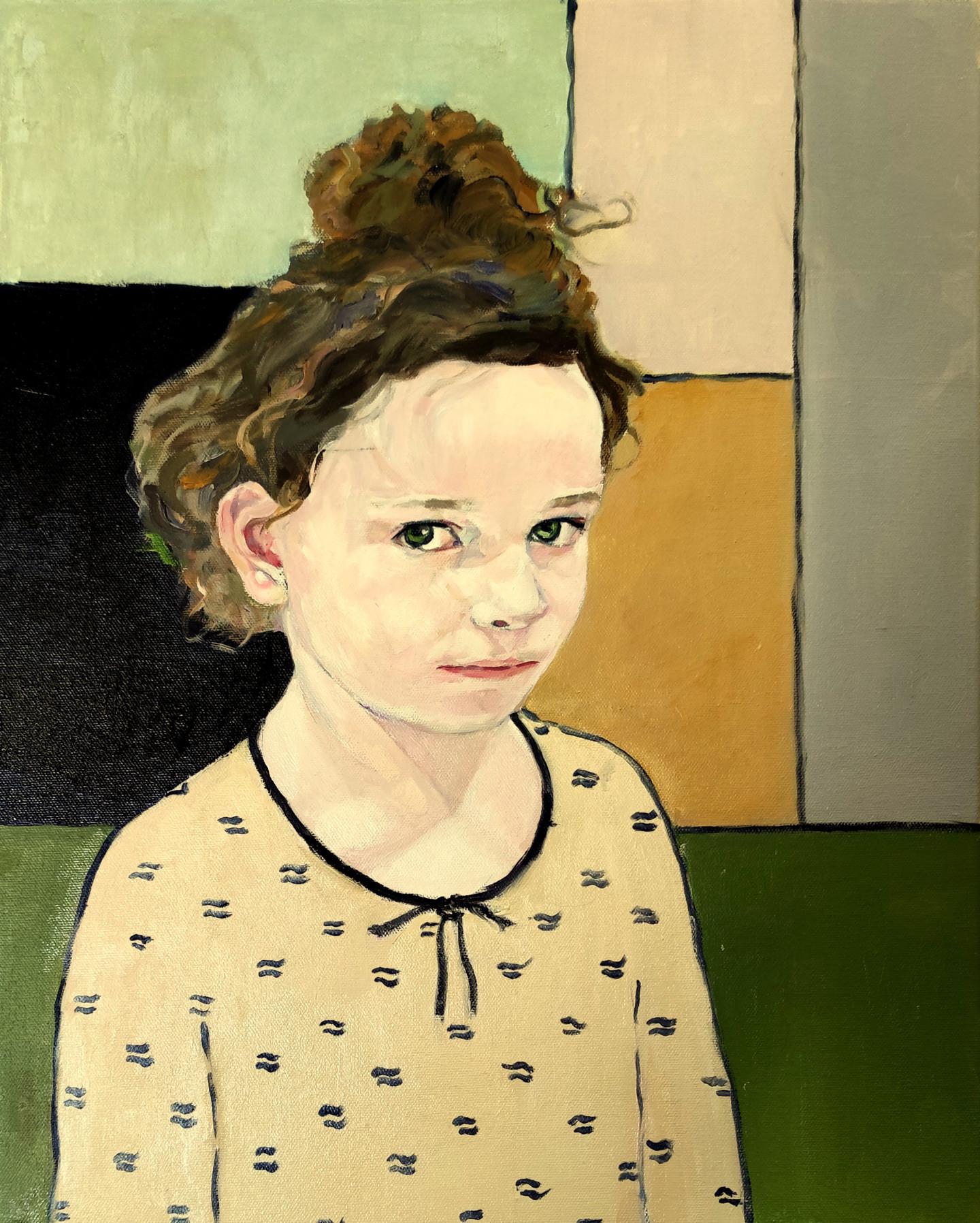 Lubalem - Portrait of girl  Noa 12