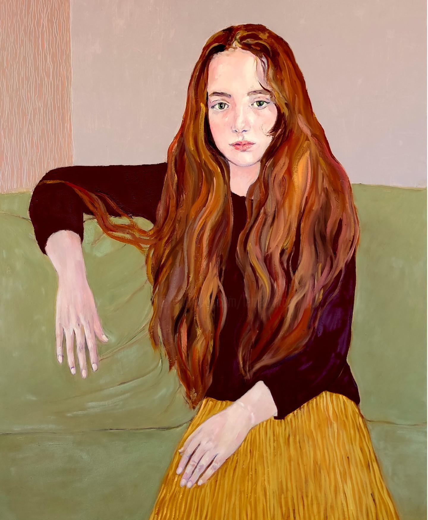 Lubalem - Portrait of girl Lia1