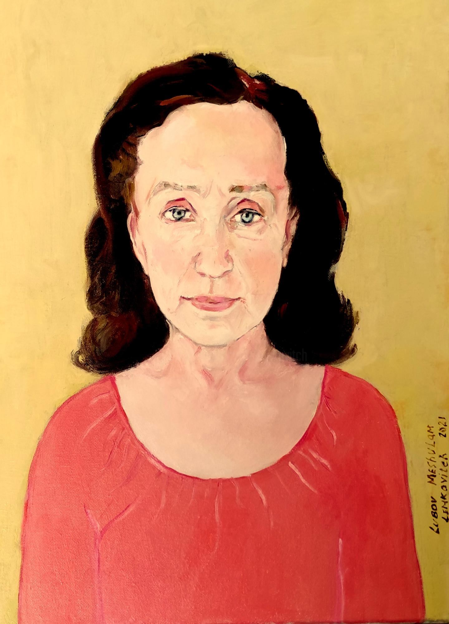Lubalem - Portrait of elderly woman Tonia