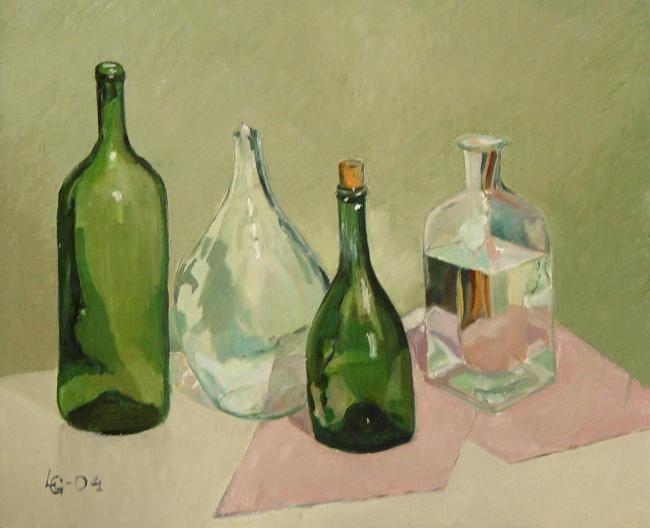 Lubalem - Still Life with Bottles