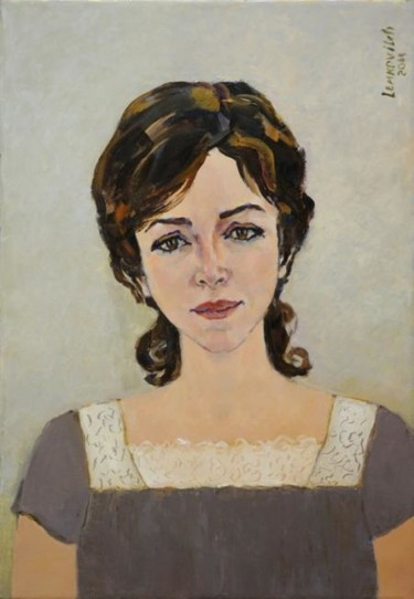 Portrait of young woman Luba