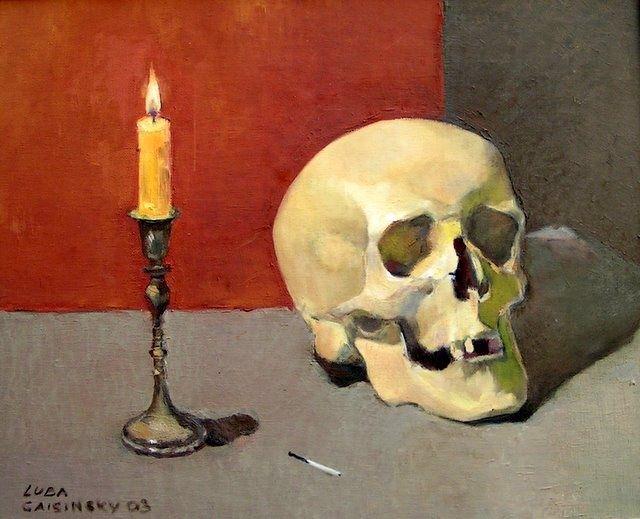 lubalem - Still Life with a skull